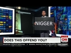 Don Lemon Holds Up Sign Displaying the N-Word, Uncensored, on Air CNN Live