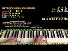 Fireball (Pitbull) Easy Piano Lesson How to Play Tutorial