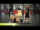Medicine Ball Cleans for Olympic Lift Training with RAGE Fitness Medicine Balls