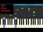 Sia - Elastic Heart - Piano Tutorial - Synthesia - How To Play