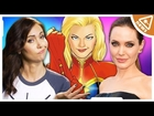 Angelina Jolie and Marvel! What's the next step? (Nerdist News w/ Jessica Chobot)