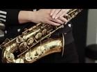 FAMDÜSAX Saxophonquartett feat. Santi (drums) Studiosession