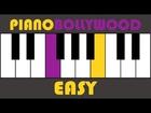 Bas Ek Sanam Chahiye [Aashiqui] - Easy PIANO TUTORIAL - Verse [Left Hand]
