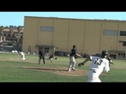 Menlo School Baseball: Triple Play (bases loaded) to win the game (Slo-Mo)