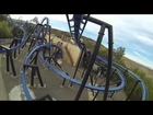 Batman The Ride Backwards Six Flags Magic Mountain (HD POV) Roller Coaster