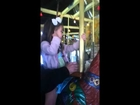 Adventures with Autism: Lily Grace Rides 100 Year Old Carousel, Autistic Supergirl!