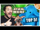 Top 5 Best Worst STAR WARS Creatures with Wil Wheaton! (Nerdist News w/ Jessica Chobot)