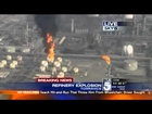 Explosion at Exxon Mobil Refinery Torrance, California (VIDEO)