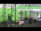 Medicine Ball Switch Push Ups - Exercise Library - MV Fitness
