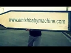Incredible video of Amish Baby Machine Podcast sign spinning
