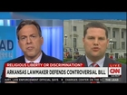 CNN's Tapper Battles Arkansas Pol: Does Religious Freedom Bill Discriminate or Not?