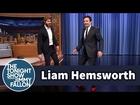 Liam Hemsworth and Jimmy Strut in High Heels