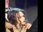 Winona Ryders face expressions at SAG AWARDS 2017