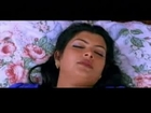 Mallu Aunty Sajini Hot Masala Intimate Navel Pressing Seducing Bed Room Scene .