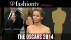 Jennifer Lawrence, Leonardo DiCaprio, Julia Roberts at Oscars 2014 Red Carpet Part 2 | FashionTV