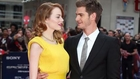Emma Stone Andrew Garfield Amazing Spider Man 2 Premiere Red Carpet