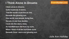 Julia Ann Holliday - I Think Alone In Dreams