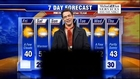 Weatherman strips down on TV for Working Naked Day