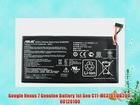 Google Nexus 7 Genuine Battery 1st Gen C11-ME370T 0B200-00120100