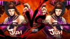Ultra Street Fighter 4 Omega mode mods sexy new Juri Succubus costumes HD 60fps gameplay